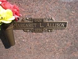 Margaret L Allison