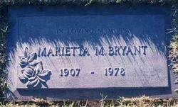Marietta Margaret <i>Bennett</i> Bryant