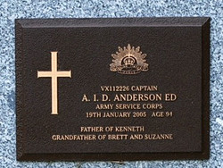 Capt Andrew Ira Douglas Anderson Ed