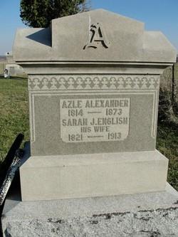Sarah J. <i>English</i> Alexander