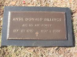 Ansil Donald Billings