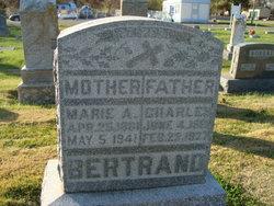 Mary Marie Anna <i>Eberhardt</i> Bertrand