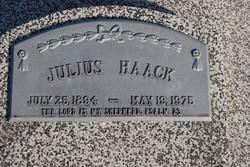 Julius August Henry Haack