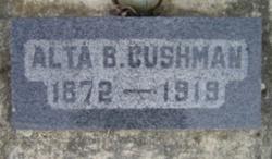 Alta <i>Brewster</i> Cushman