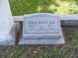 Eunice Melvin <i>Lewis</i> Agee