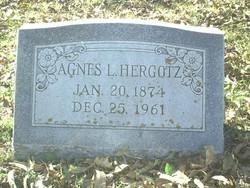 Agnes <i>Ludwig</i> Hergotz