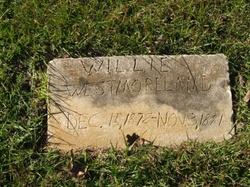 Willie A Westmoreland