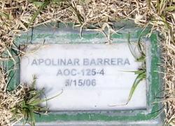 Apolinar Barrera