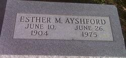 Esther M <i>Kath</i> Ayshford