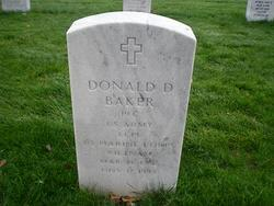 LCpl Donald Dyle Baker