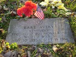 PFC Earl Avery