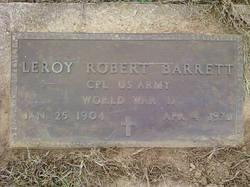 Leroy Robert Barrett