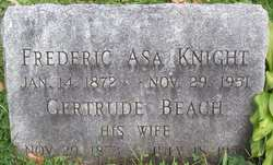 Gertrude <i>Beach</i> Knight