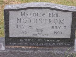 Matthew Emil Nordstrom