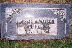 Bessie Ann <i>Austin</i> Watson