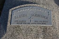 Martha Augusta Margaretha <i>Haack</i> Schneider