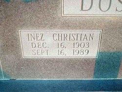 Inez B <i>Christian</i> Doshier