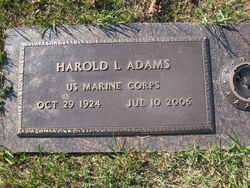 Harold L Adams