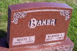 Maud Esther <i>Whitmer</i> Baker