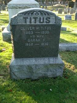 Oliver W Titus