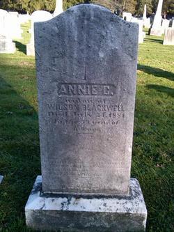 Anna Annie <i>Conover</i> Blackwell