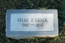 Belle Zora <i>Rye</i> Clack