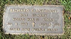 Maj Richard E. Anthony