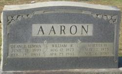 Martha Francis <i>Hall</i> Aaron