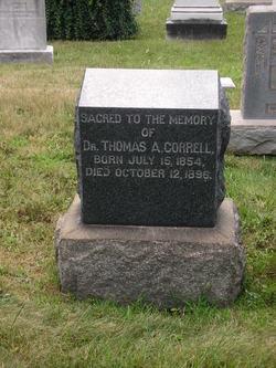 Dr Thomas A. Correll