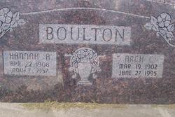 Hannah Pauline <i>Atkinson</i> Boulton