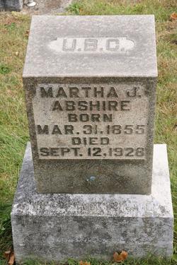 Martha J. <i>Showalter</i> Abshire