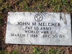 John M Melcher