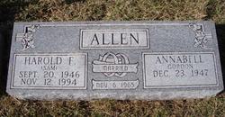 Harold F Allen
