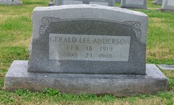 Gerald Lee Anderson