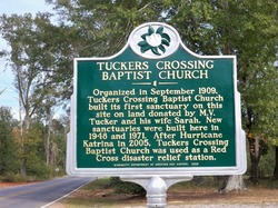Tuckers Crossing Baptist Church Cemetery