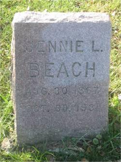 Jane Ann Jennie <i>Lamar</i> Beach