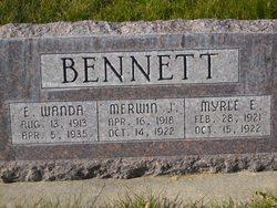 Merwin J Bennett