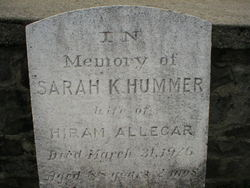 Sarah K <i>Hummer</i> Allegar