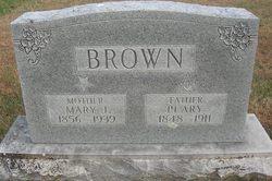 Mary J <i>Parrish</i> Brown
