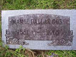 Mamie Dallas <i>Love</i> Goss