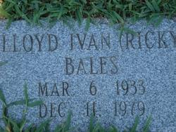Lloyd Ivan <i>Ricky</i> Bales
