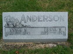 Vance M. <i>Hale</i> Anderson