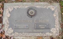 Gertrude Elizabeth <i>Adams</i> Haun