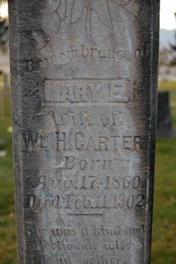 Mary Eleanor <i>Carter</i> Carter