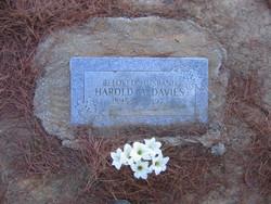 Harold A Davies