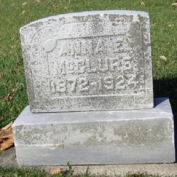 Anna E McClure