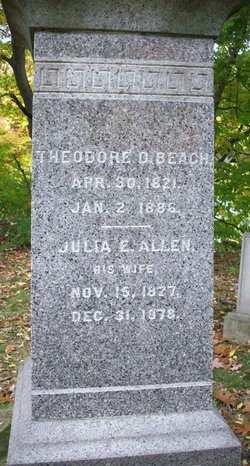 Julia E <i>Allen</i> Beach