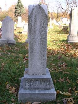 Sarah Louise <i>Malone</i> Brown