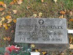 Robert D Kirkpatrick