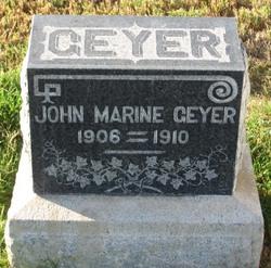 John Marine Geyer